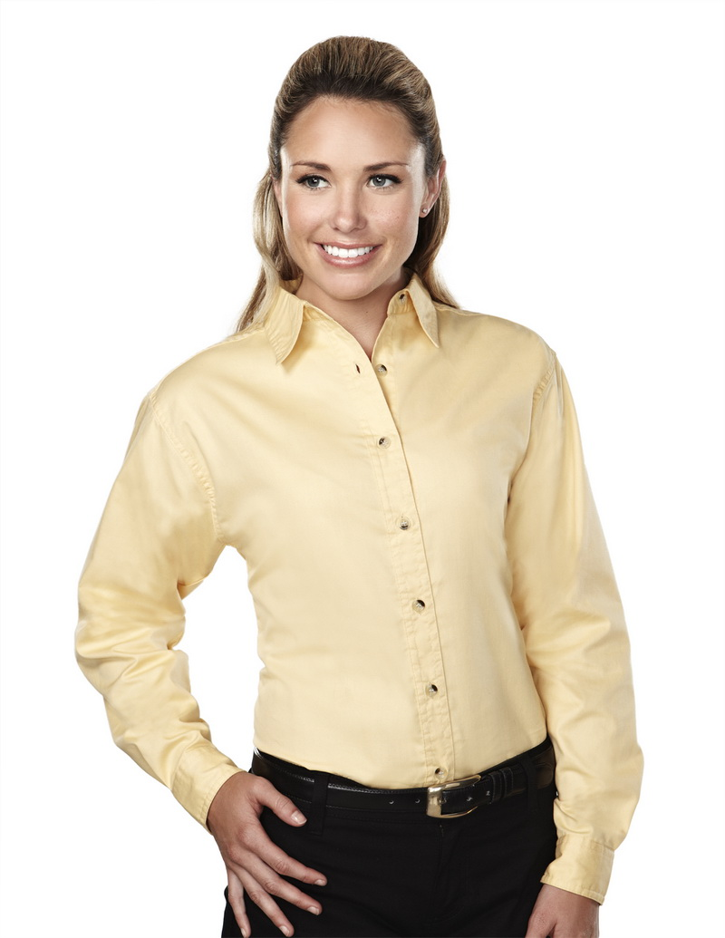 Goliath 39 s mother who said to goliath s by red buttons for Where to buy womens button up shirts