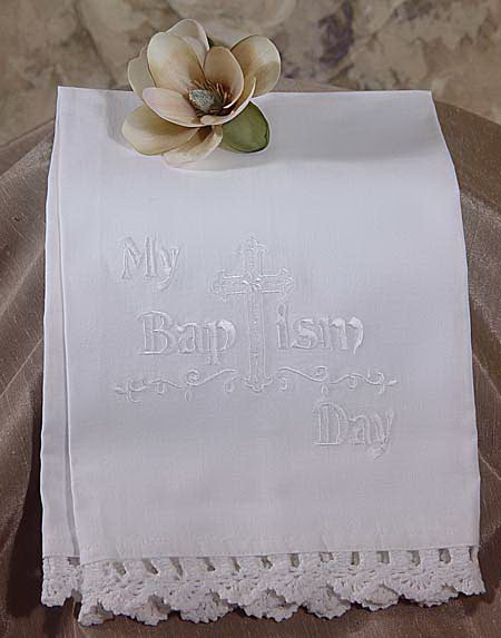 Little Things Mean A Lot BAPTISM Towel