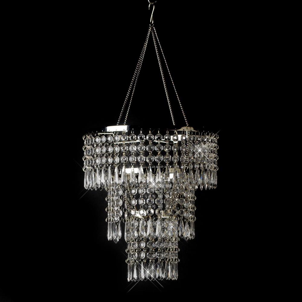 opentip elegance by carbonneau chandelier 15 clear