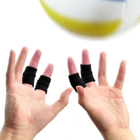 Double Star Finger Supports, Basketball Finger Sleeves, Finger Braces / Bands, Finger Protector (10 pcs/box)