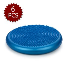 GOGO 14 Inch Balance Disc / Exercise Disc - 6 Count