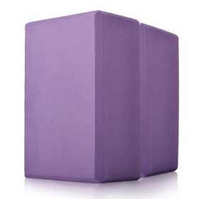 GOGO Foam Yoga Block, 4 x 6 x 9 inches Yoga Block, Yoga Accessories ( 2 PACK )
