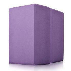 GOGO Foam Yoga Block, 4 x 6 x 9 inches Yoga Block, Yoga Accessories ( 2 PACK )