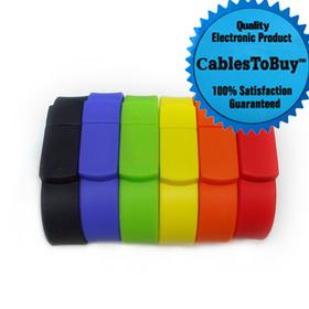CablesToBuy 2G USB Silicone Bracelet / USB Wristband