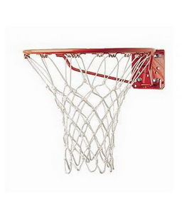 "(Price / 2 pieces ) GOGO Super Basketball Net, 17"" White Net (Hoops not included)"
