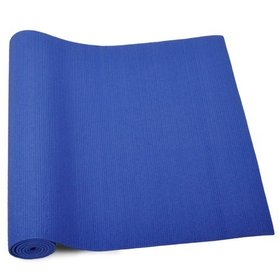 "GOGO Premium 1/4"" (6mm) Blue Yoga Mat, High Density Yoga Mat, Yoga Accessories"