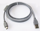 CablesToBuy 6 Ft (1.8 m) USB Cable 5-Pin to Mini-B with Ferrite for Digital Camera (Price/10 pcs)