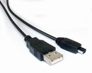 CablesToBuy 5 Ft (1.5 m) USB 2.0 A to 4-Pin Mini B Cable for Most Digital Cameras (Price/50 pcs), Special Offer