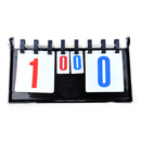 GOGO Tabletop 4-digit Table Tennis Scoreboard Double-Sided Score Flipper