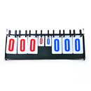 GOGO Multi-Purpose 6-Digit Sports Flipper Basketball Scoreboard from 0-999