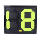 GOGO Soccer Player Substitutes Number Board, IN OUT on two sides, Soccer Game Gear