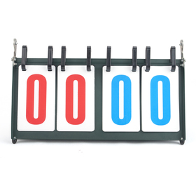 GOGO Portable Double-digit Tabletop Multifunctional Scoreboard, Ideal For Sports Games