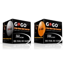 GOGO 3-Star Table Tennis Balls, Premium Ping Pong Balls (144pcs x 2 Boxes)