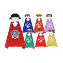 Paw Patrol Cape & Mask Cosplay Kids Costume Party, 27