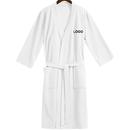 Custom Blank Adults Kimono Waffle Hotel Bathrobe Spa Robes for Men and Women