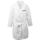 Custom Blank Kids Cotton Waffle Kimono Robe Spa Hotel Bathrobe with Pockets
