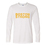 Boston Strong - Personlized White Long Sleeve T Shirt with Full Color Image by Gildan, No Minimums, 5.3oz