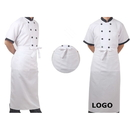 Custom Long Bistro Apron with One Pocket, 27.5