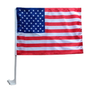 Custom Premium 110G Polyester Car Flag, Full Color, Two-Ply, 16