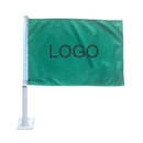 Custom Premium 110G Polyester Car Flag, Full Color, 2 Ply, 14