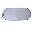 Blank Single Panel Spring Loop Auto Sunshade, 40