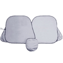 Blank Prest O Shade Collapsible Universal Fit Sunshade, 56