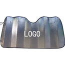 Custom Collapsible Auto Sunshade, 55