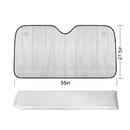 Custom Collapsible Auto Sunshade, Laser Aluminized Film Shades, 57