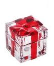 Crystal Gift Box Decoration, Cute Figurine, 2.36