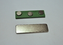 Blank Green Magnet, Bulk Badge Attachments