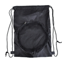 "Blank 190T Polyester Sport Ball Backpack, 12-1/2""W x 17-3/4""H"