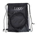Customized 190T Polyester Sport Ball Backpack, 12-1/2