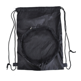 "Blank 190T Polyester Sport Ball Backpack, 12-1/2""W x 17-3/4""H, Price/Piece"