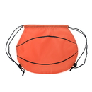 "Blank Basketball 210D Polyester Drawstring Backpack, 14""H x 15 3/4""W"