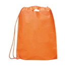 "Blank 80G Non-woven Single Drawstring Backpack, 19""H x 15-1/2""W"