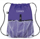 Customized 210D polyester Sport Mesh Backpack, 12