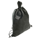 """Blank Two-Tone Non-Woven Drawstring Backpack, 13"""" W x 16"""" H"""