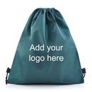 Blank 90G Non-Woven School Drawstring Backpack, 15.7