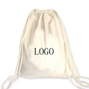Customized 10oz Cotton Drawstring Bag - Long Leadtime, 13 3/4