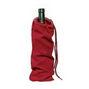 Blank 10oz Cotton Bottle Wine Bag - Long Leadtime, 13 3/4