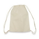 """5oz Cotton Drawstring Backpack, 14-1/2"""" W x 16-1/2"""" H - In Stock"""