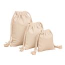 Blank Opromo 10oz Cotton Canvas Drawstring Bags Blank DIY Storage Bags