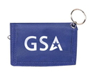 Customized Double ID Holder with Key Ring