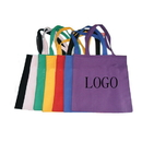 Customized 10oz Colored Cotton Tote Bag, 15