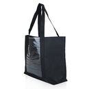 Customized 600D Polyester Tote Bag with Window Pocket, 21
