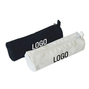 Custom 16oz Cotton Canvas Zipper Pen Pouch, Pen / Pencil Case, 7-2/3