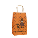 10 PCS Halloween Twisted Handle Paper Shopping Bags, 5
