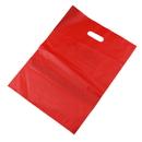 Blank 2.5 Mil Plastic Die Cut Handle Bags, 12