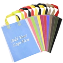 Custom Plastic Shopper Gift Bag, 2.5 Mil, 12