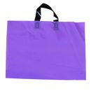 Blank 2.5 Mil Colorful Plastic Handle Bags, 15